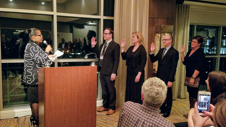 2018 Swearing in Ceremony